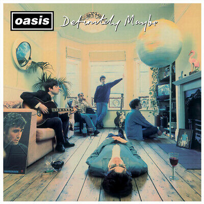 Oasis - Definitely Maybe Album Cover Poster Giclée