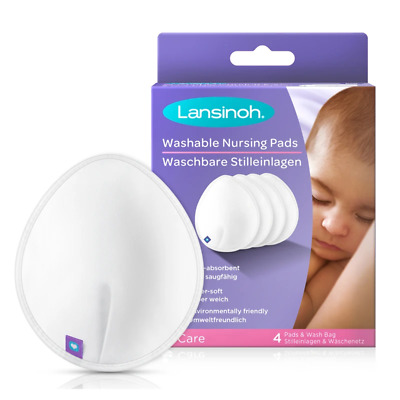 Lansinoh Washable Nursing Pads 4 pk