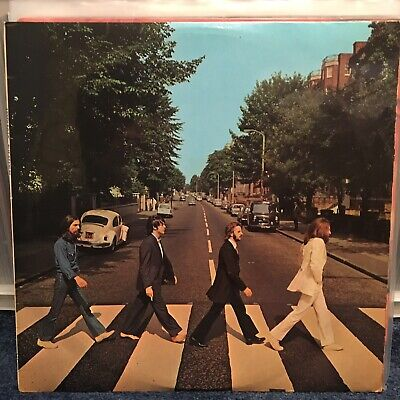 The Beatles Abbey Road Vinyl LP Uk 1st PCS 7088