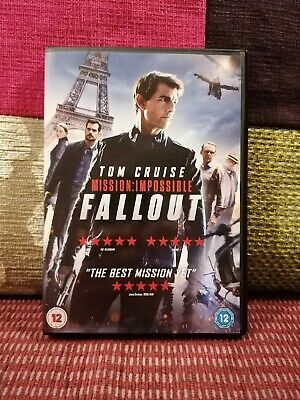 Mission: Impossible: Fallout DVD (2018)
