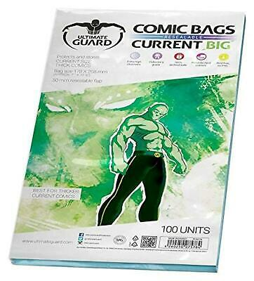 Ultimate Guard Bags Fumetti Comics Resealable 178x268 Finger (100 Bags)