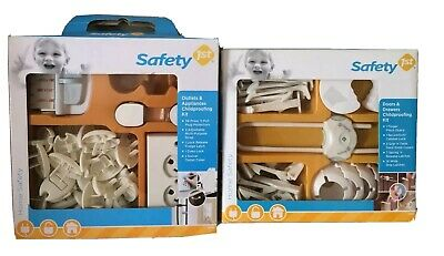 66 Pieces Child proofing Kit Safety Baby Set Cover Lock Protector Strap Latch