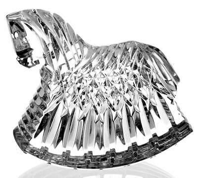 Waterford Crystal Figurine 14968 no box Rocking Horse