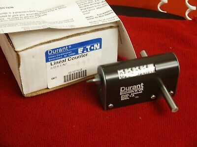 Durant 5-D-9-1-AC Lineal Counter, Eaton Corp USA - New In Box w/ Paperwork (NOS)