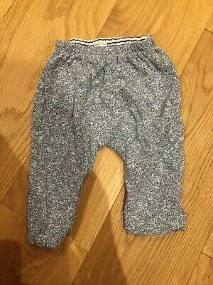 Baby Gap reversible jogger trousers age 0-3 months