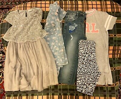9 Year Old Girls Clothes Bundle Matalan And Next (Used)