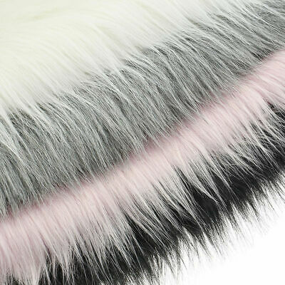 40*50cm Faux Fur Fabric Plush Clothing Sewing Home Room Sofa Decor Craft DIY