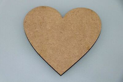 Wooden MDF Heart Love XL Wall Art Shapes Bunting Crafts Decorate yourself