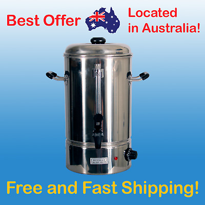 10L Hot Water Urn Stainless Steel Water Boiler Commercial