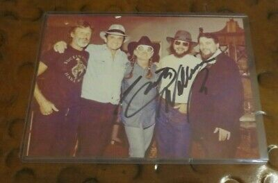 Hank Williams Jr  country singer songwriter signed autographed photo Bocephus