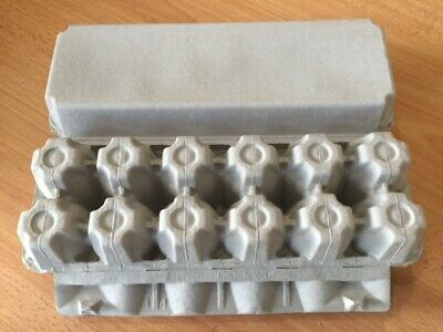 Egg Cartons Unbranded 1 Doz plain, flat top (Crt of 150)