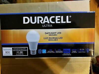 Duracell Procell Soft White Led Light Bulb 3000k 60w A19