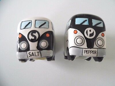 Vw Campervan Salt & Pepper Cruet Set New