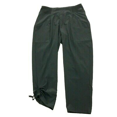 THE NORTH FACE FlashDRY Cropped Pants Size S Small Pull On Straight Capri Thin