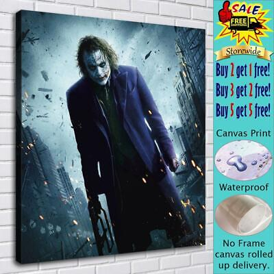 "16""x18"" Marvel Clown Pictures HD Canvas prints Home decor Room Wall art Posters"