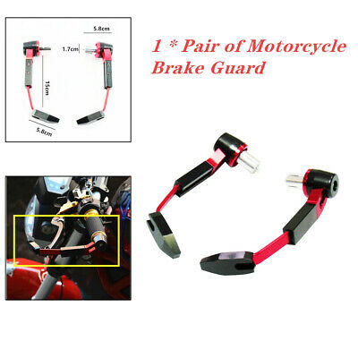 CNC Motorcycle Scooters Handlebar Brake Clutch Guard Rod Bow Levers Protection
