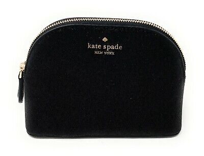 Kate Spade Small Dome Glitter Joeley Cosmetic Makeup Bag WLRU5759 $69
