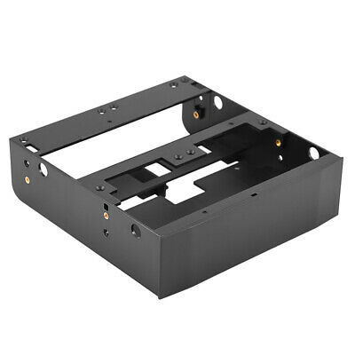 "3.5/"" to 5.25/"" Drive bay computer case adapter mounting bracket usb hub flo TDCA"