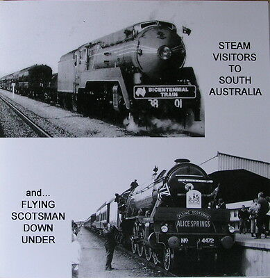 Train Sound Effects - Steam Visitors to Souh Australia inc Flying Scotsman