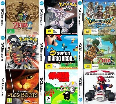 Nintendo DS Games - Choose Your Own Titles *Free Next Day Post* 2DS / 3DS / DSi
