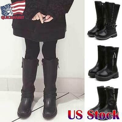 NEW Stevie/'s Youth Girl/'s Tall Riding Boots Black #17730 J2C m