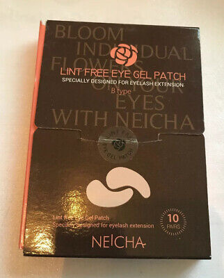 Neicha Lint Free Eye Gel Patch , 9 Boxes, Designed Especially Eyelash Extensions