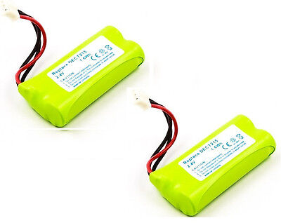 2 X Batterie pour Philips Xalio 300/300 Dect / Rechange 2HR-AAAU