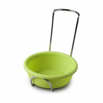 Zeal Spoon Rest Silicone Lime