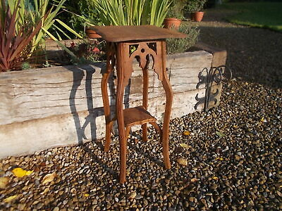 French Vintage Oak Hallway Occasional Plant Table Ref T16/113