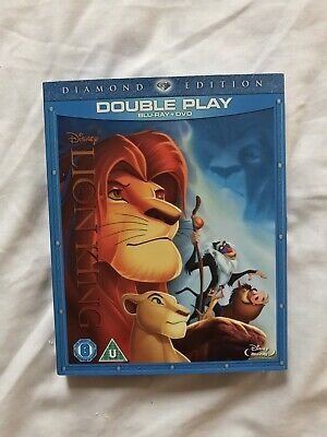 The Lion King Blu-ray and DVD Diamond Edition
