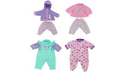Chad Valley Babies to Love Set of 4 Dolls Outfits Different Outfit