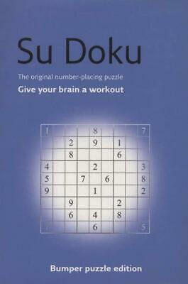 Su Doku Numbers Puzzles.New Book.[Paperback]