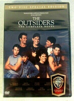 THE OUTSIDERS (DVD 2-Disc Special Edition) Complete Novel New Sealed