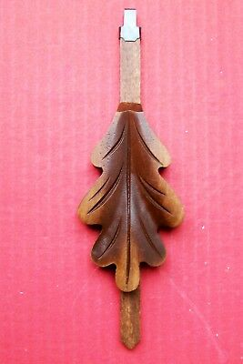 New  genuine Black Forest hand carved German cuckoo clock pendulum,  ( 4 b ).