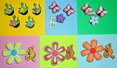 Gecko Butterfly  Charms Shoe Buttons Plugs Accessories Shoe Decorations