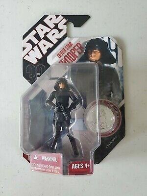 Star Wars 30th Anniversary Death Star Trooper Hasbro Action Figure w/ Coin