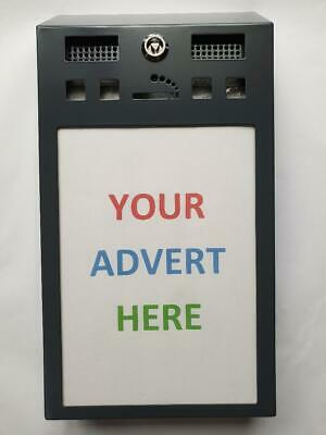 Advertising Cigarette Bins - Business Opportunity - give out free & sell space!