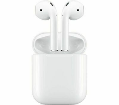 Apple AirPods 2nd Generation Bluetooth Headphones with Wireless Charge Case
