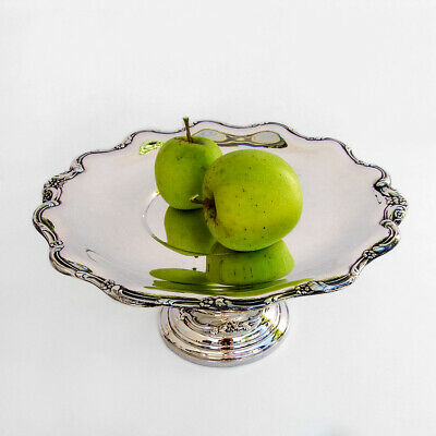 Tara Cake Stand Reed Barton Sterling Silver Weighted 1955