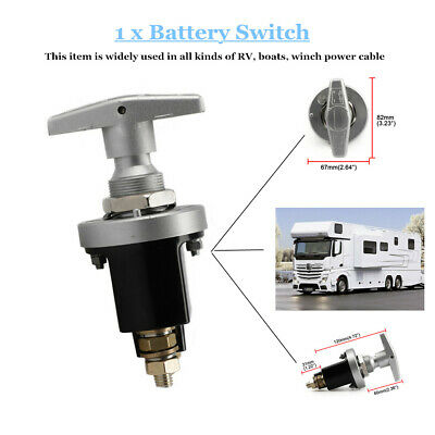 1500A Boat Car Truck Battery Isolator Disconnect Cut Off Power Kill Switch Part