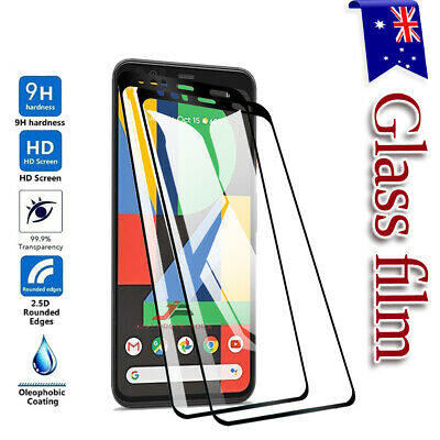 For Google Pixel 4 & 4 XL Full Cover 9H Premium Tempered Glass Screen Protector