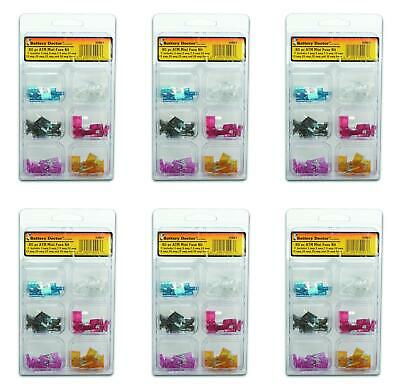 WirthCo 30993 Fuse Assortment ATM Mini Fuse 6 PACK