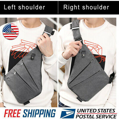2020 New Waterproof Personal Shoulder Pocket Bag Business Anti-theft Package USA
