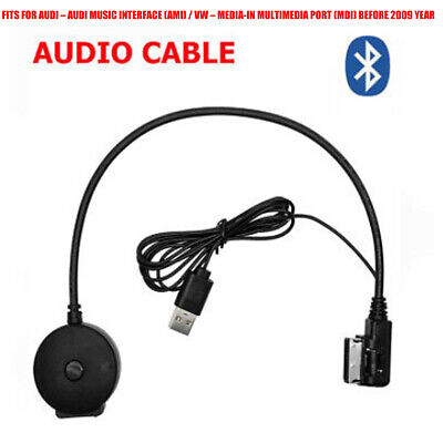 AMI Musik Interface auf 3.5 mm Kle Audio AUX MP3 Adapter Kabel fuer Audi