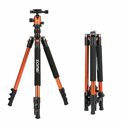 ZOMEI Q555 Camera Tripod Heavy Duty Aluminium&Ball Head for Canon Nikon Sony