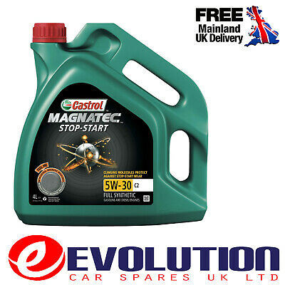 Castrol Magnatec Stop Start 5W-30 C2 4L Fully Synthetic Car Engine Oil