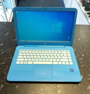 "HP Stream 14 Intel Celeron CPU N3060 1.60GHz 2GB Ram 32GB eMMC 14"" Laptop"