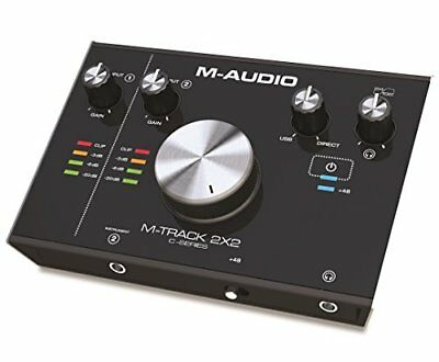 M-AUDIO M-TRACK 2X2 2-INPUT/2-OUTPUT USB Interfaz de Audio