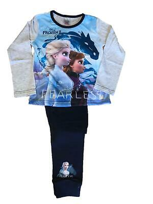 Girls Pyjamas Sleepwear Set Disney Frozen Pyjamas