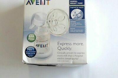 Philips Avent Natural Comfort Manual Breast Pump Nice Condition